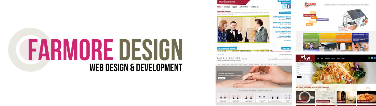 web design and development stirling scotland